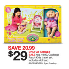 Cabbage Patch Kids Travel Set