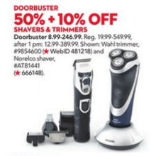 Wahl Lithium Ion Personal Groomer All-In-One Trimmer 50%+10% OFF