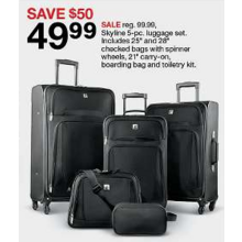 5-Pc. Luggage Set