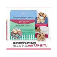 $7.49-$18.74 Spa Comforts Products (Assorted)