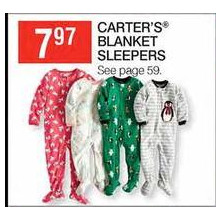 Carter's Blanket Sleepers (Assorted)