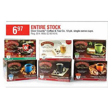 Door County Coffee & Tea Co. 12-pk. Single-Serve Cups (Assorted)