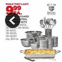 Philippe Richard Stainless Steel Food Prep Sets (Assorted)