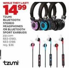 Tzumi Bluetooth Stereo Headphones