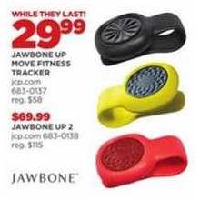 Jawbone Up Move Fitness Tracker