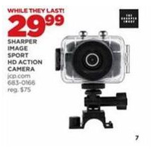 Sharper Image Sport HD Action Camera