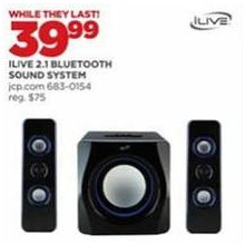 iLive 2.1 Bluetooth Sound System