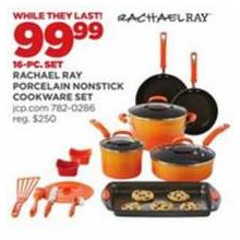 Rachael Ray Porcelain Nonstick Cookware 16-pc. Set