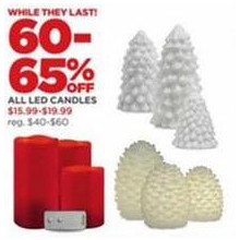 LED Candles - 60-65% OFF