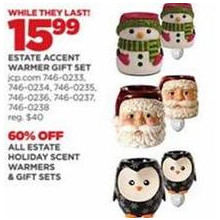 Estate Holiday Scent Warmers - 60% OFF