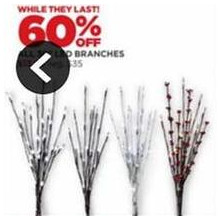 LED Branches - 60% OFF