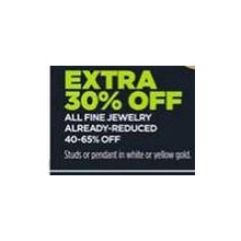 All Fine Jewelry Already Reduced 40-65% - Extra 30% OFF