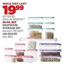 Snapware 38-pc. Storage Set
