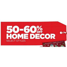Home Decor (Select Items) - 50%-60% Off