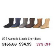 UGG Australia Classic Short Boot (Assorted Colors)