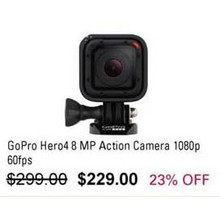 GoPro Hero4 8MP Action Camera