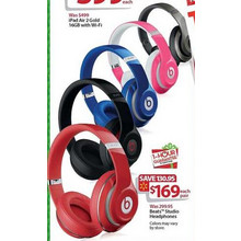 Beats Studio Headphones (Assorted Colors)
