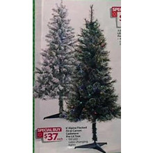 Alpine 6-in. Fir Pre-Lit Tree