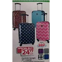 Hardside Upright Luggage (Assorted)
