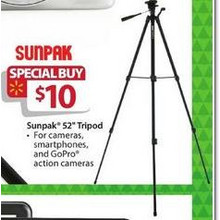 Sunpack 52-in. Tripod