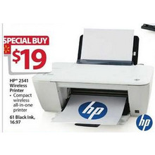 HP 2541 Wireless Printer