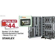 Stanley 171-pc. Mechanics Tool Set