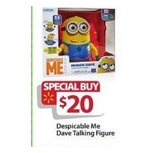 Despicable Me Talking Figure