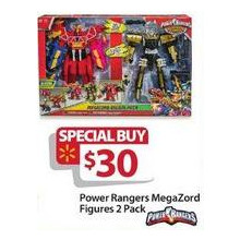Power Ranger 2-pk. Mega Force Figures