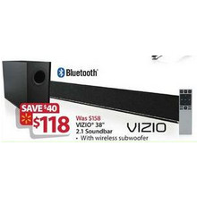 "Vizio 24"" 2.1-Channel Soundbar"