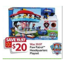 Paw Patrol Headquarters Playset