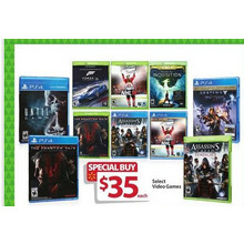 PS4 Video Games $35 (Select)