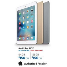 Apple iPad Air 2 128GB - $150.00 Off