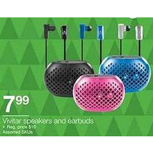 Vivitar Earbuds (Assorted)