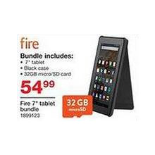 "Amazon Fire 7"" Tablet 32GB Bundle"
