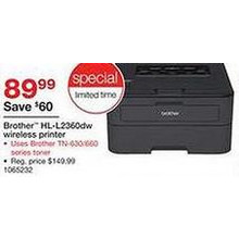 Brother Mono Laser Printer (HL-L2360DW)