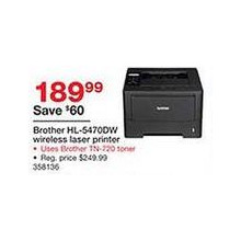 Brother HL5470DW Wireless Laser Printer