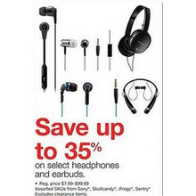 iFrogz Headphones (Assorted) - 35% Off