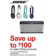 Bose Headphones (Assorted) - Up to $100 Off
