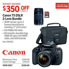 Canon DSLR 2-lens Bundle (T5)