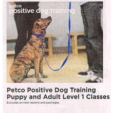 Petco Positive Dog Training Adult Level 1 Classes - 50% Off