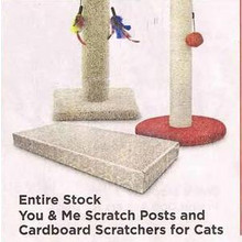 You & Me Cat Cardboard Scratchers (Assorted) - 50% Off