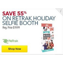 Retrak Holiday Selfie Booth 55% Off