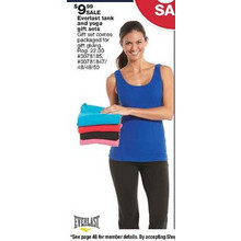 Everlast Womens Tank Top & Yoga Pants Gift Sets (Assorted)
