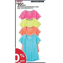 Skechers Womens Performance T-Shirt (Assorted)