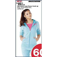 Skechers Womens Athletic Hoodie Jacket