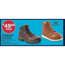 DieHard Mens SureTrack 6-in. Leather Soft Toe Work Boot (Brown)