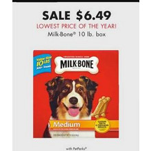 Milk-Bone 10-lb. Box