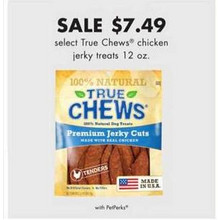 True Chews Chicken Jerky Treats (12-oz.) (Select)