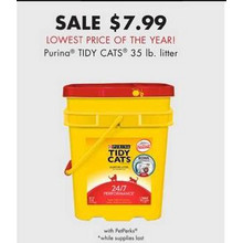 Purina TIDY CATS 35-lb. Litter