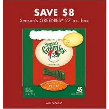 Seasons Greenies (27-oz.) - $8.00 Off